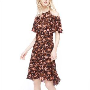 A.L.C. Emile dress nwt floral silk cold shoulder